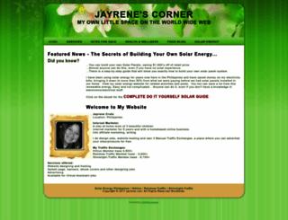 jayrene.com screenshot
