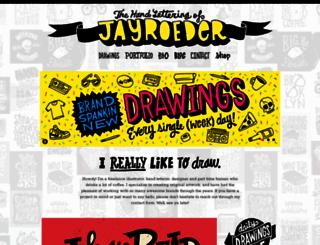 jayroeder.com screenshot