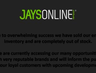 jaysonline.com.au screenshot