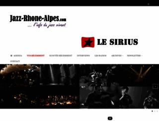 jazz-rhone-alpes.com screenshot