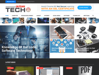 jazzan-tech.com screenshot