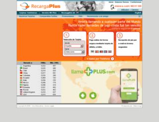 jazzcard.recargaplus.es screenshot