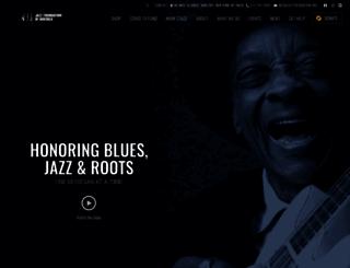 jazzfoundation.org screenshot