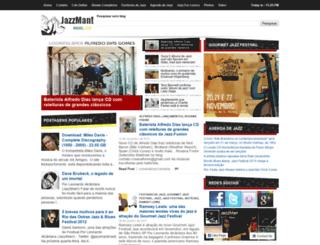 jazzmanbrasil.com screenshot