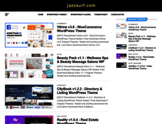 jazzsurf.com screenshot