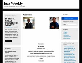 jazzweekly.com screenshot