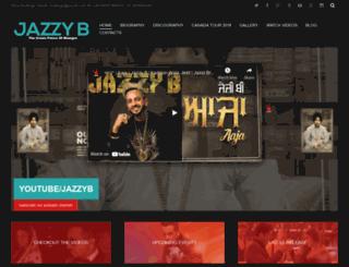 jazzyb.com screenshot