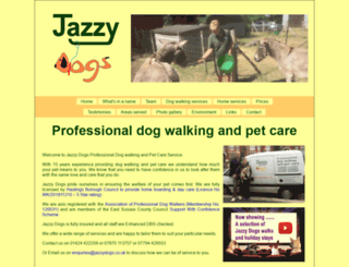 jazzydogs.co.uk screenshot