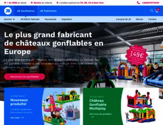 jb-inflatables.fr screenshot