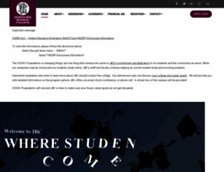 jbc.edu screenshot