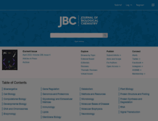 jbc.org screenshot
