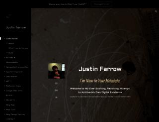 jbfarrow.com screenshot
