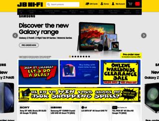 jbhifi.co.nz screenshot