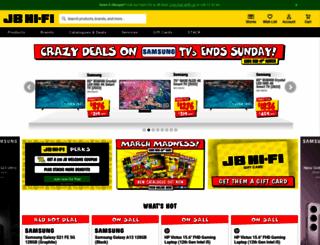 jbhifionline.com.au screenshot