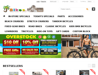 jbikes.net screenshot