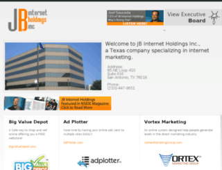 jbinternetholdings.com screenshot