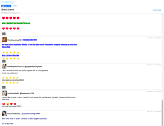 jblackscene.chatango.com screenshot