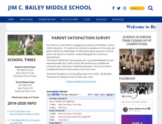jbms-ecsd-fl.schoolloop.com screenshot