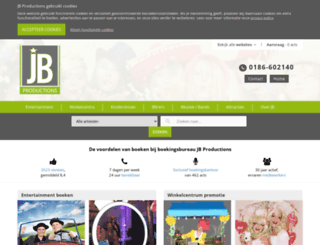 jbproductions.nl screenshot