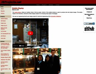 jbprojects.net screenshot