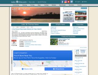 jbthomas.lakesonline.com screenshot