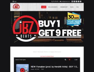 jbzbeats.com screenshot