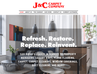 jc-carpet.com screenshot