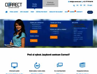 jc-correct.com screenshot