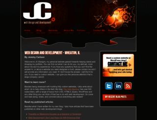 jc-designs.net screenshot