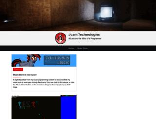 jcamtech.com screenshot