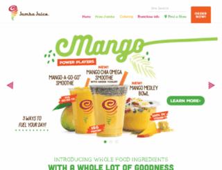 jcard.jambajuice.com screenshot