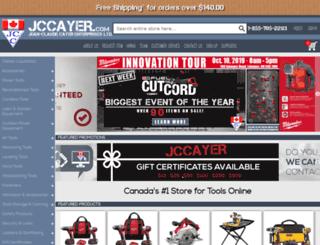 jccayer.com screenshot
