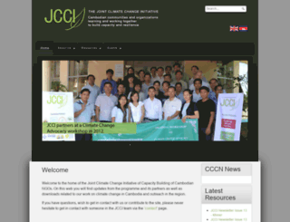 jcci-cambodia.org screenshot