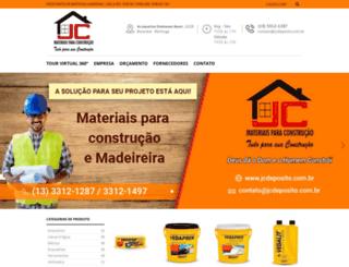 jcdeposito.com.br screenshot