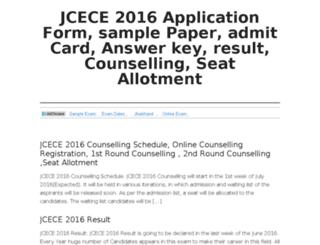 jcece.co.in screenshot
