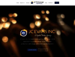 jcevans.com screenshot