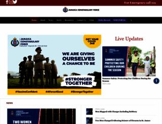 jcf.gov.jm screenshot