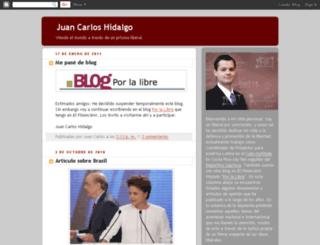 jchidalgo.blogspot.com screenshot