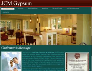 jcmgypsum.com screenshot