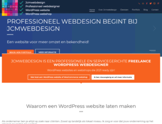 jcmwebdesign.nl screenshot
