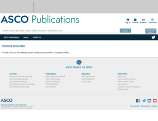 jco.ascopubs.org screenshot