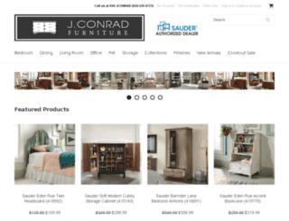 jconradfurniture.com screenshot