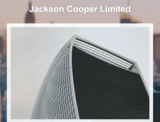 jcooper.co.uk screenshot