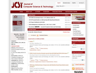 jcst.ict.ac.cn screenshot