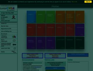 jct.ie screenshot
