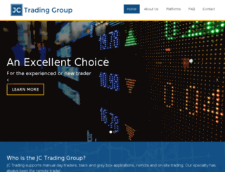 jctradinggroup.com screenshot