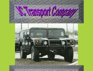 jctransportcompany.com screenshot