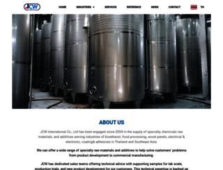 jcwinter.com screenshot