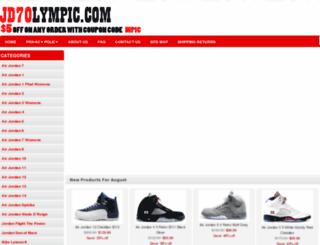 jd7olympic.com screenshot