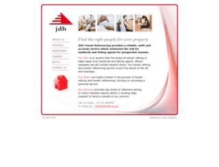 jdhrefs.co.uk screenshot